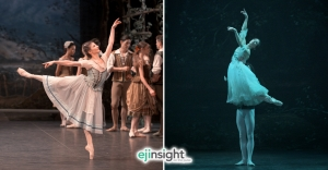 English National Ballet dazzles in beloved classics