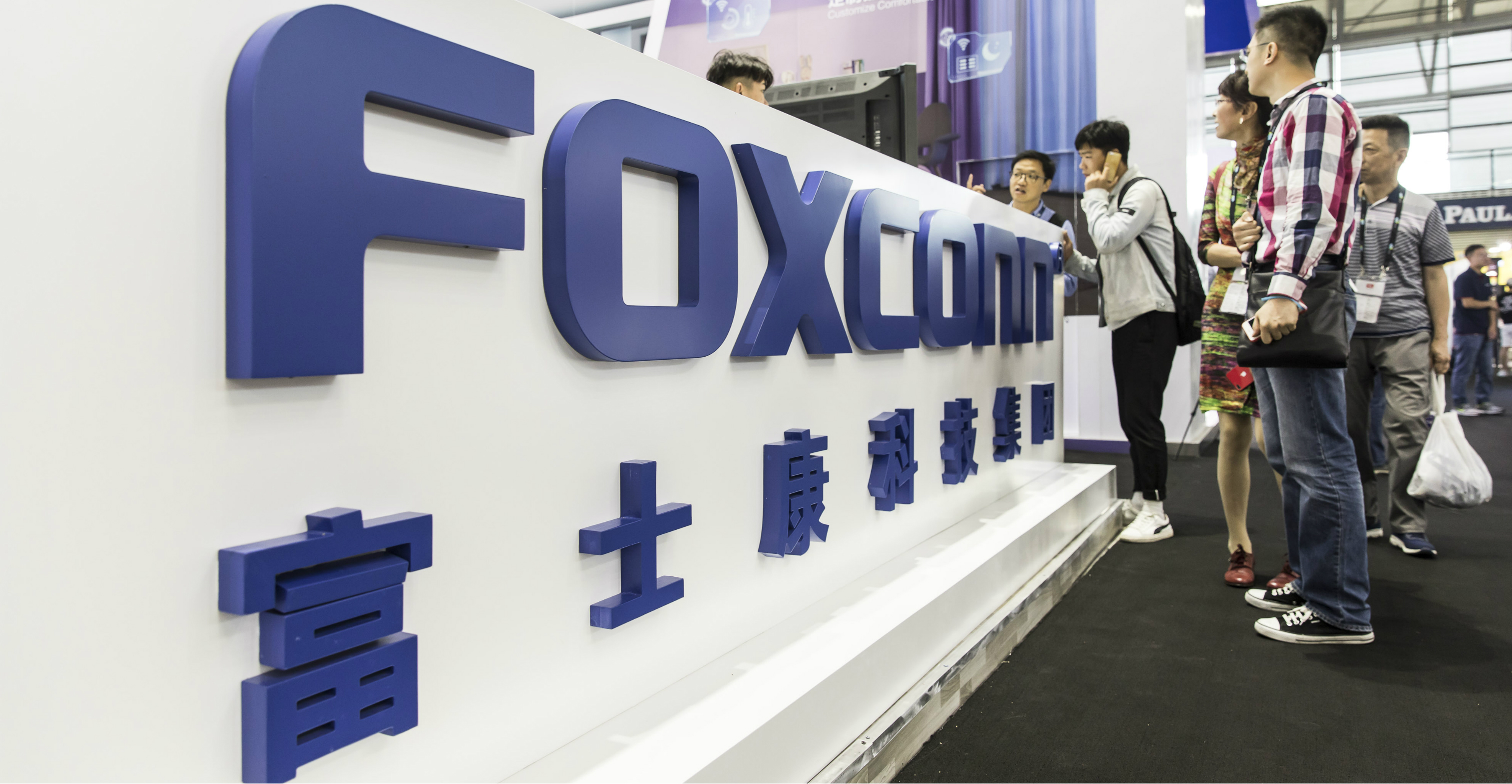 Foxconn said 25 percent of its production capacity is outside of China. Photo: Bloomberg
