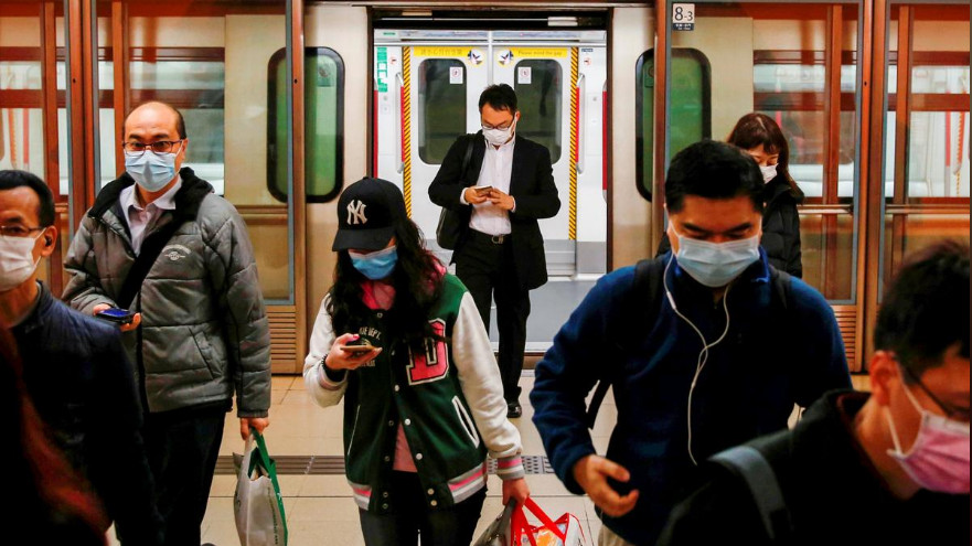 Restrictions imposed to combat the virus is squeezing the commercial lifeblood out of Hong Kong.Photo: Reuters