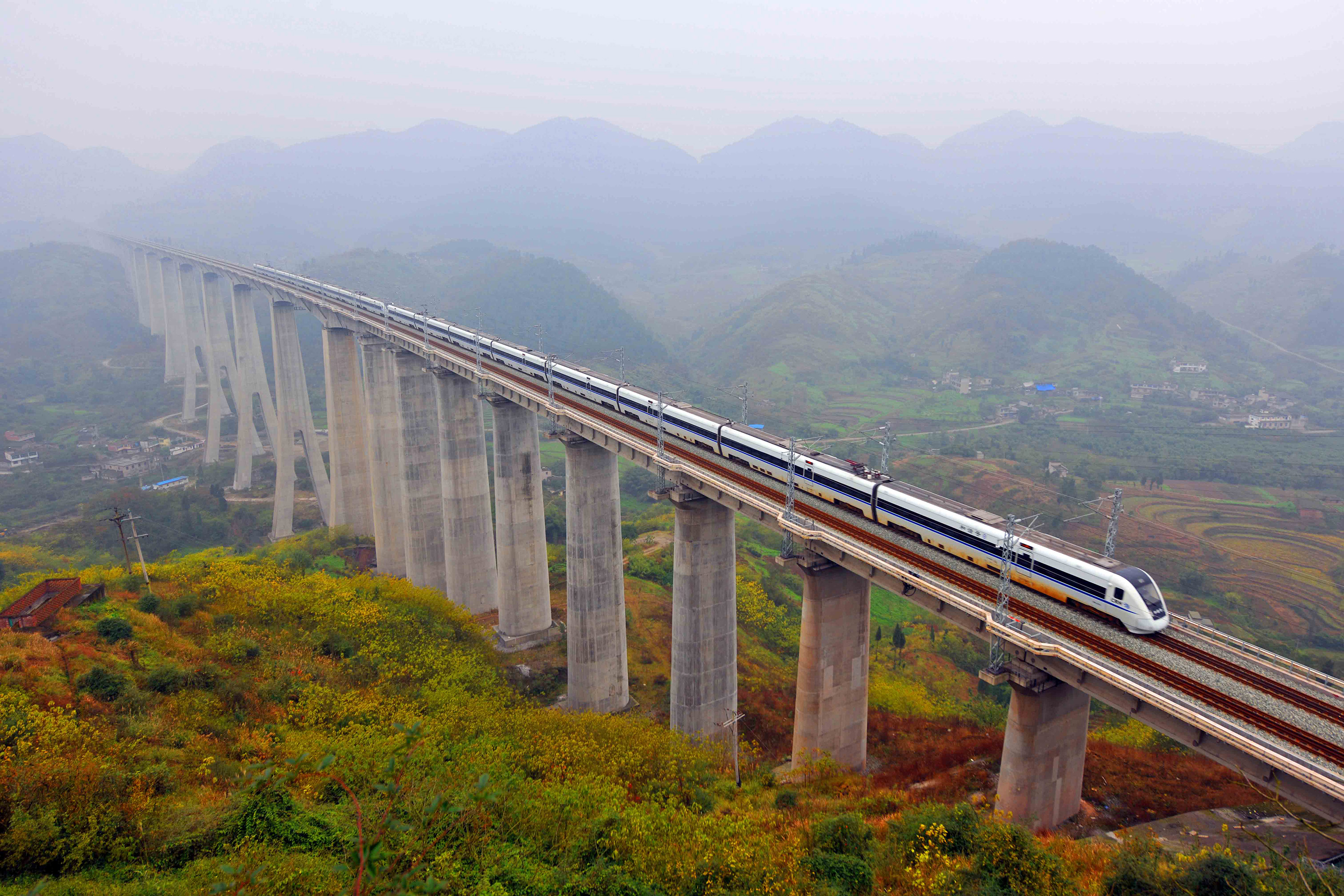 Africa has emerged as the biggest market for mainland railway and engineering companies. Photo: Xinhua