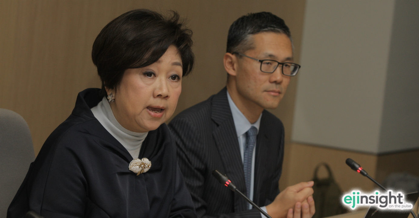 Laura Cha says the government is prepared to import talent when needed. Photo: HKEJ