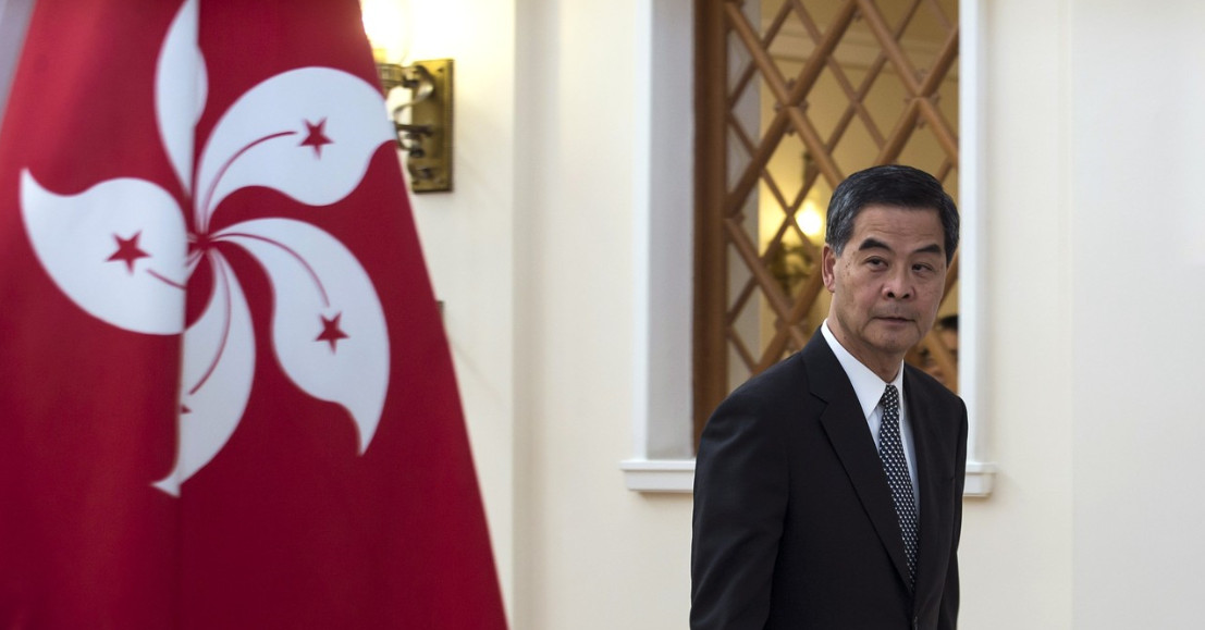 Leung Chun-ying, who blames pan-democrats'  filibustering for hindering his government, will be heartened by suggestions that his power be increased. Photo: Reuters