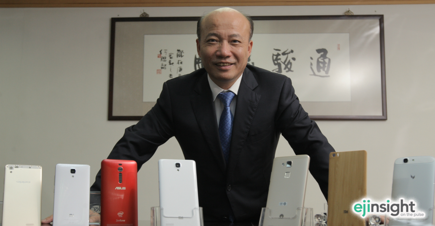 Wang Yanan says Tongda Group could be worth HK$30 billion (US$4.84 billion) thanks to a market rally that has driven the share price since the beginning of the year. Photo: HKEJ
