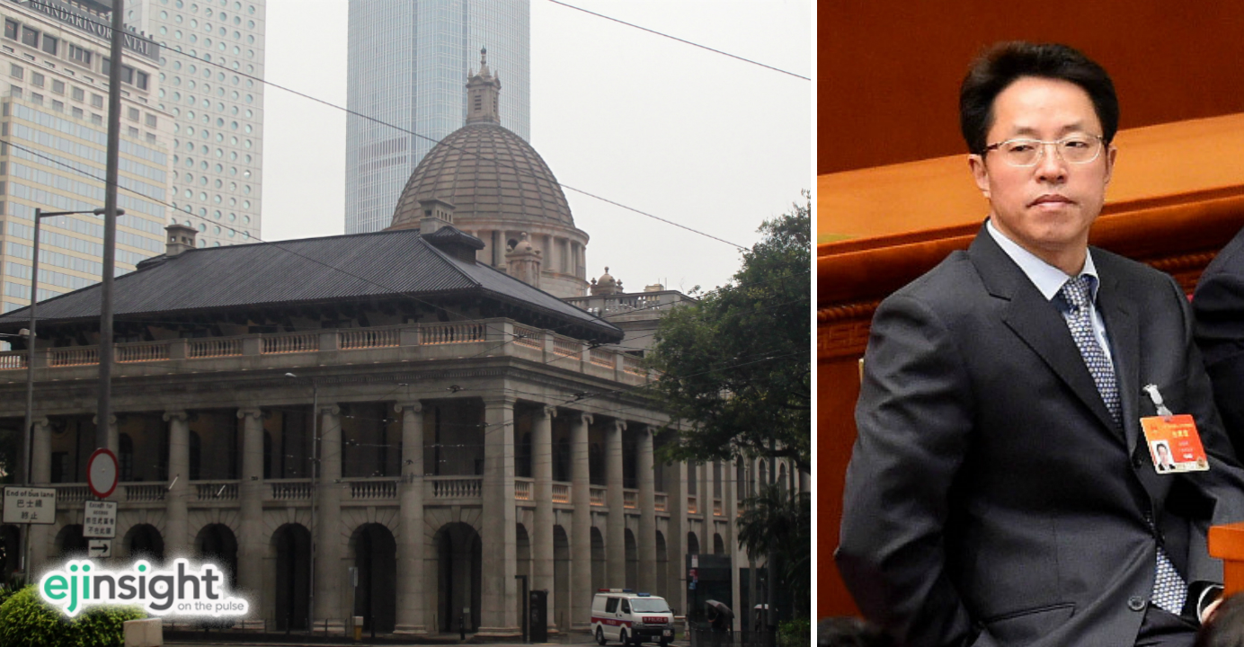 Zhang Xiaoming, Beijing's top official in HK, has stirred a controversy by suggesting that the chief executive has a constitutional status that transcends all branches of government, including the judiciary. Photos: internet