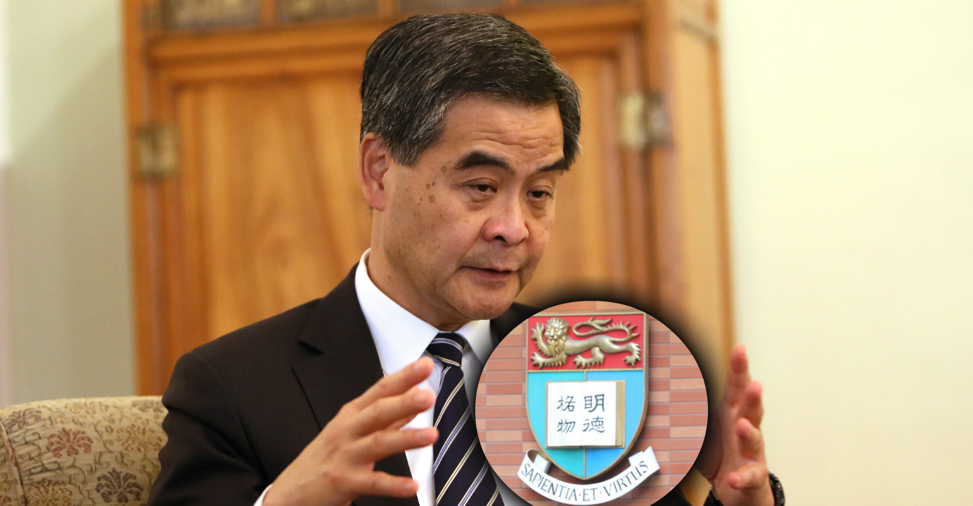 Leung Chun-ying seems intent on appointing Arthur Li  to chair the council of the University of Hong Kong. Photo: Xinhua, HKEJ