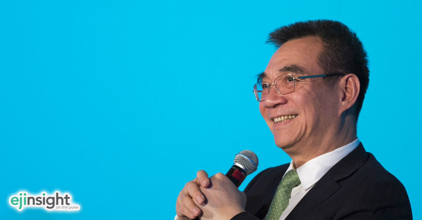 Justin Lin Yifu said the renminbi must appreciate  by 7 to 8 percent by 2020. Photo: CNSA