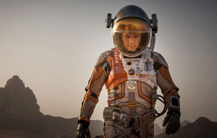 The New York Times bestseller The Martian began as a 99 US cent self-published sci-fi novel on Amazon Kindle. Photo: foxmovies