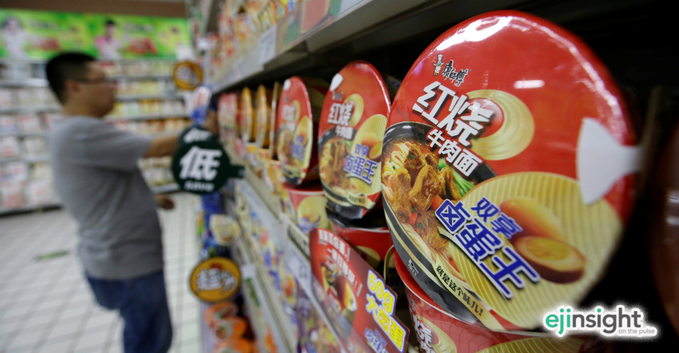 China's leading instant noodle maker has warned of extreme challenges in the marketplace. Photo: Reuters