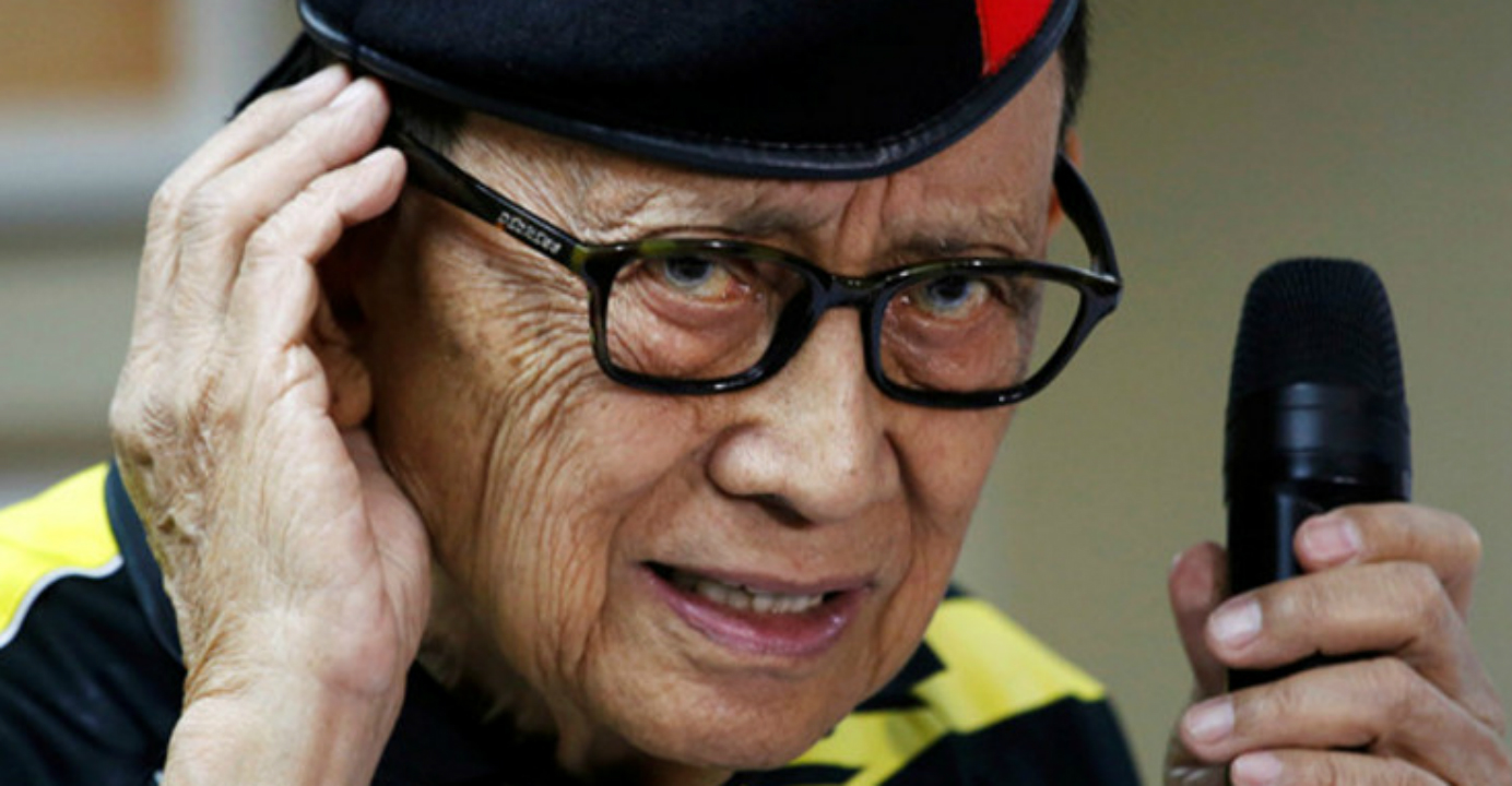 Former President Fidel Ramos said the Chinese side noted the Philippine concerns while agreeing on the need for further talks to build confidence and lower tensions. Photo: Reuters