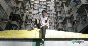 How a young photographer is doing his bit for Hong Kong