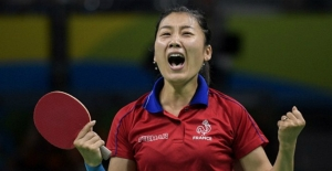 Chinese players face Chinese players at table tennis Olympics