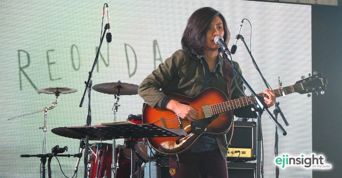 Reonda Cheng, an indie artist, says Hong Kong audiences have shown huge interest in her music. Photo: HKEJ