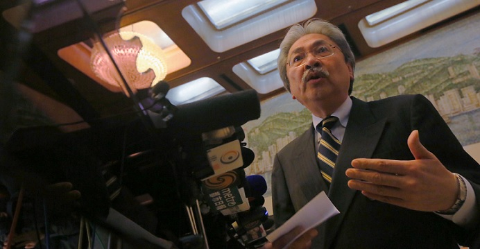 John Tsang's track record as Hong Kong's financial secretary doesn't inspire much confidence over his campaign pledges for a more fair and equitable society. Photo: HKEJ