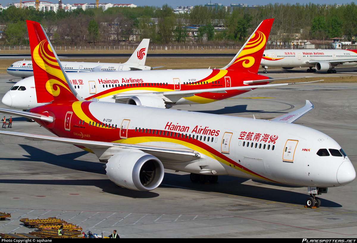 Planes belonging to HNA Group can be seen in all major airports across the Asia Pacific, North America and Europe. Photo: sqshane/planespotters.net