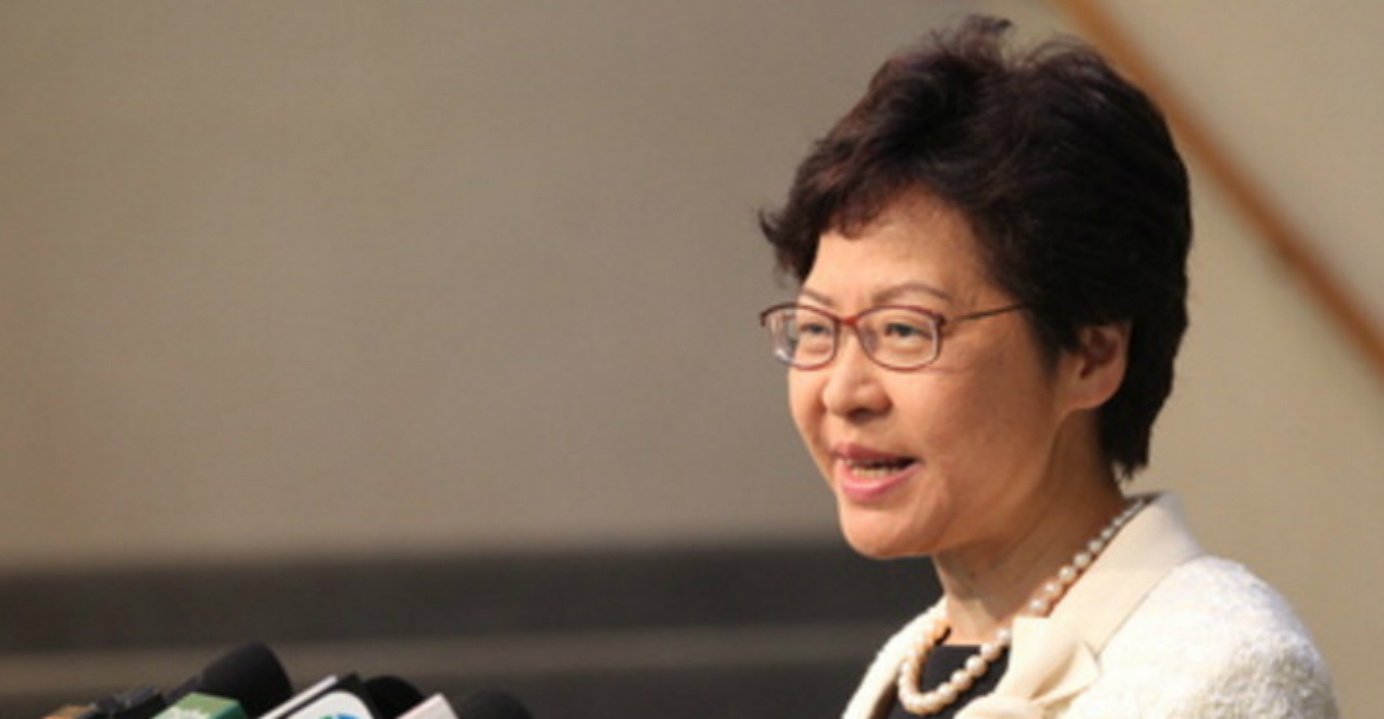 Chief Executive Carrie Lam said she expects fast action on the education proposal since many parties have expressed their support for it. Photo: HKEJ