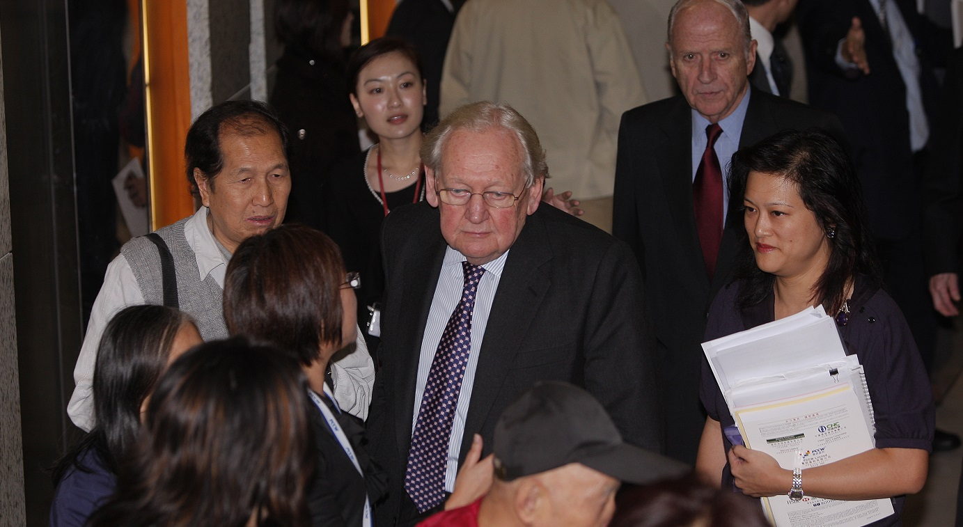 David Ford, who led Hong Kong's civil service from 1986 to 1993, was a key player in the planning for the city's 1997 handover to China. Photo: HKEJ