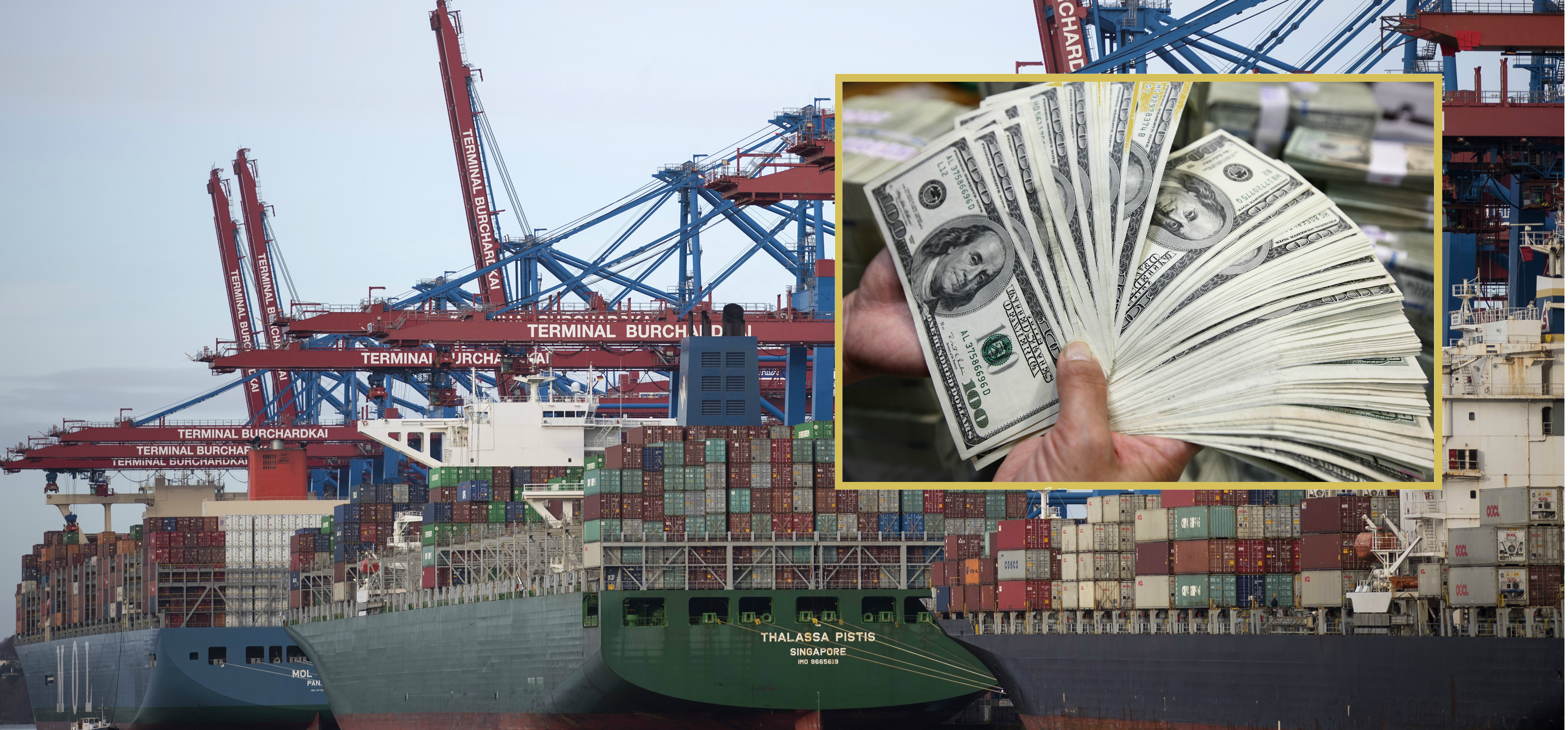 The US dollar is already becoming less important in global trade transactions. Photo: Bloomberg