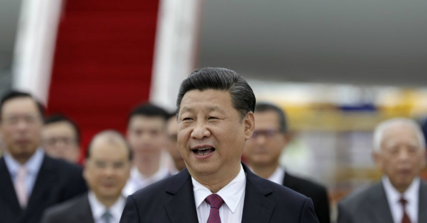 Xi Jinping, during a trip to Hong Kong last year for the territory's 20th handover anniversary celebrations, urged locals to focus on economic, not political, issues. Photo: Bloomberg