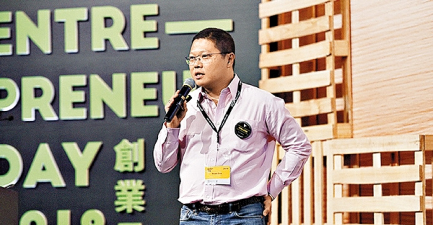Dr. Vincent Chow, En-trak founder and CEO, said the funding was led by Alibaba Entrepreneurs Fund and CLP Innovation Ventures Limited. Photo: En-trak