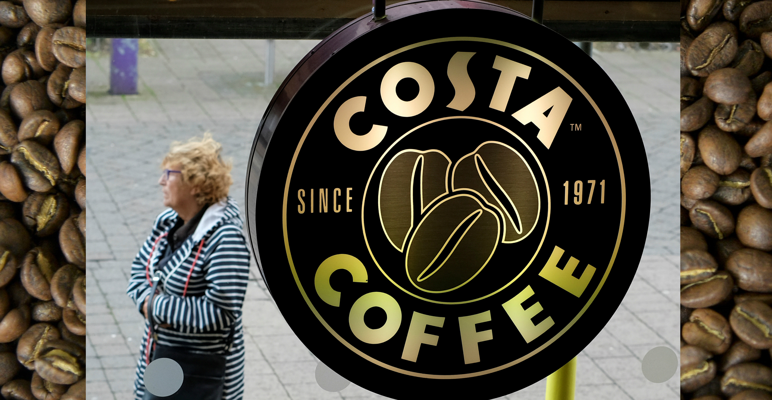 Costa currently has 2,422 outlets across Britain and a further 1,399 in international markets. Photo: Reuters/AFP