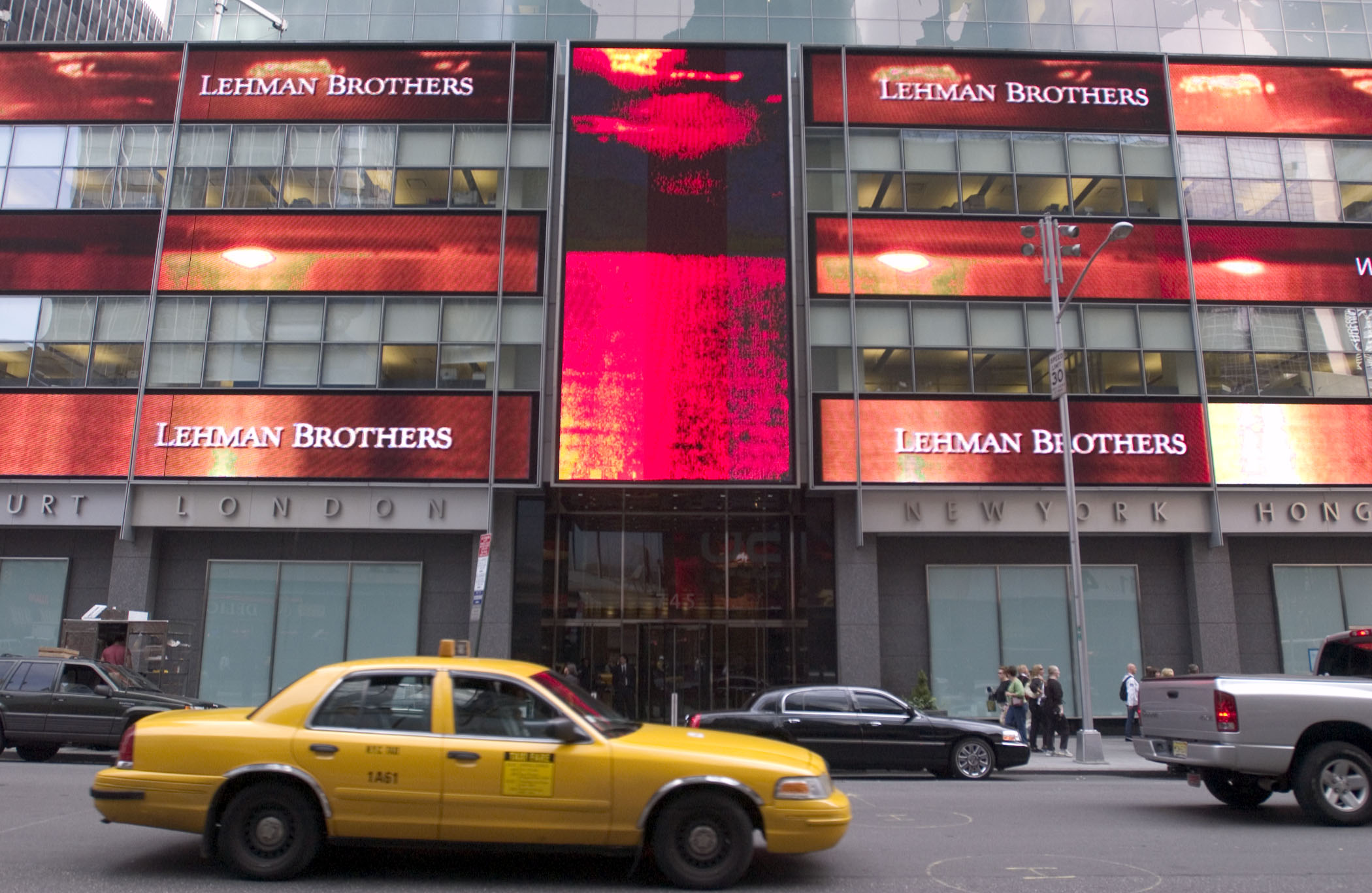 Ten years after the collapse of Lehman Brothers and the financial crisis, the world doesn't seem to have learnt all the lessons, economists say. Photo: Bloomberg