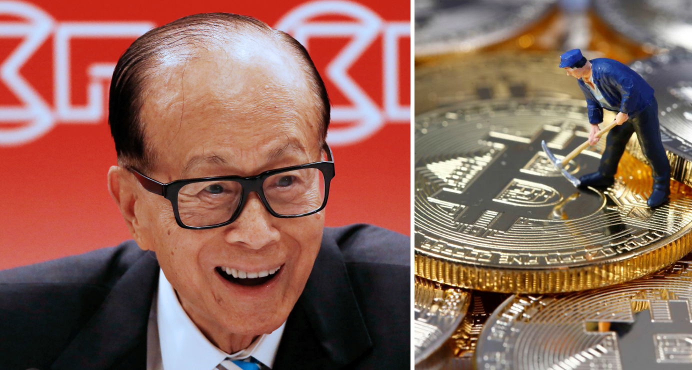 Hong Kong billionaire Li Ka-shing boosts his bitcoin investments with his participation in the funding round for cryptocurrency venture Bakkt. Photo: Reuters