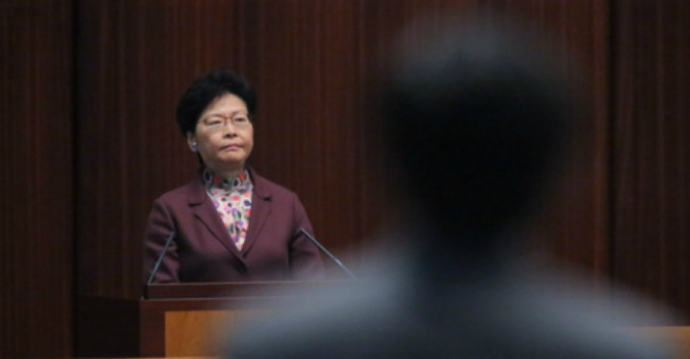 In her election manifesto, Carrie Lam had vowed that she would try to resolve constitutional and legal issues aiming at amending the Prevention of Bribery Ordinance, to extend the scope of some sections to cover the Chief Executive. Photo: HKEJ
