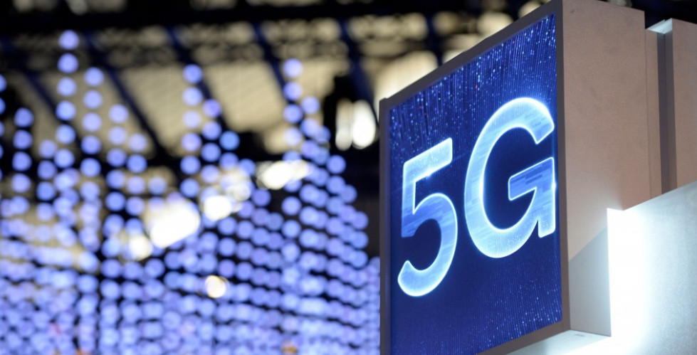 With the coming of 5G services, the speed of downloads and uploads will increase significantly, and various applications will come on stream. Photo: AFP