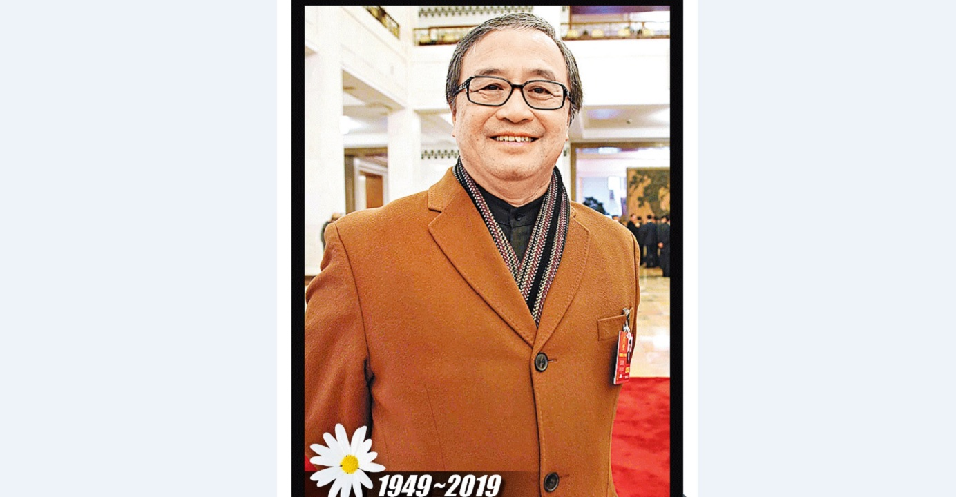 Peter Wong, a renowned entrepreneur who had been a member of the Hong Kong delegation to the National People's Congress since 1993, died Monday night at the age of 70. Photo: CNSA