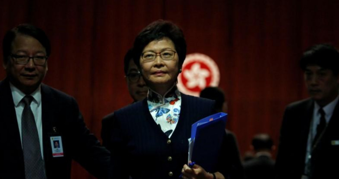 Chief Executive Carrie Lam has repeatedly said the current political climate precludes putting Article 23 back on the table. Photo: Reuters