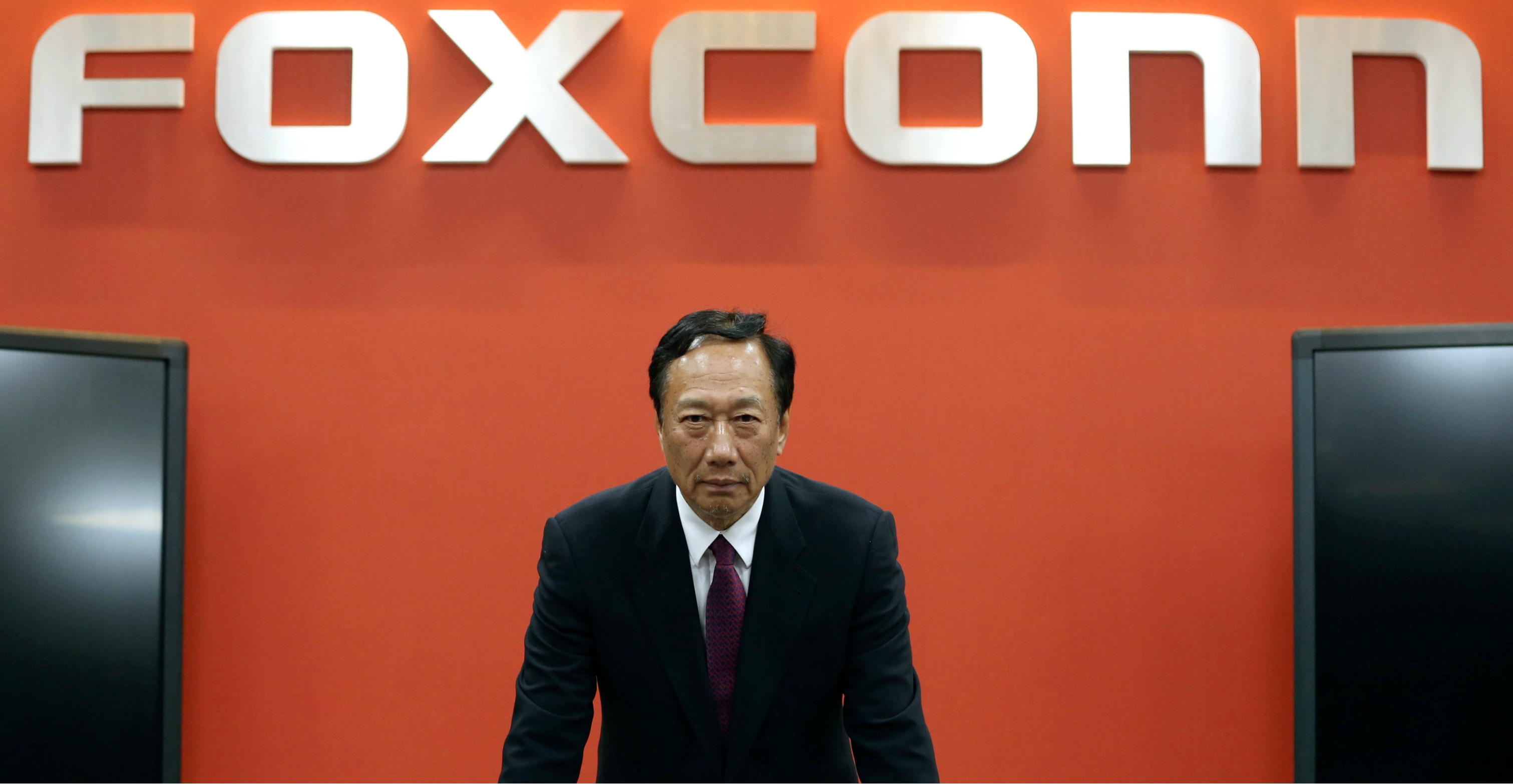Aside from having a vast business empire, Terry Gou is friends with Chinese President Xi Jinping and US President Donald Trump, which should make him a much more pragmatic leader than other Taiwanese politicians. Photo: Reuters