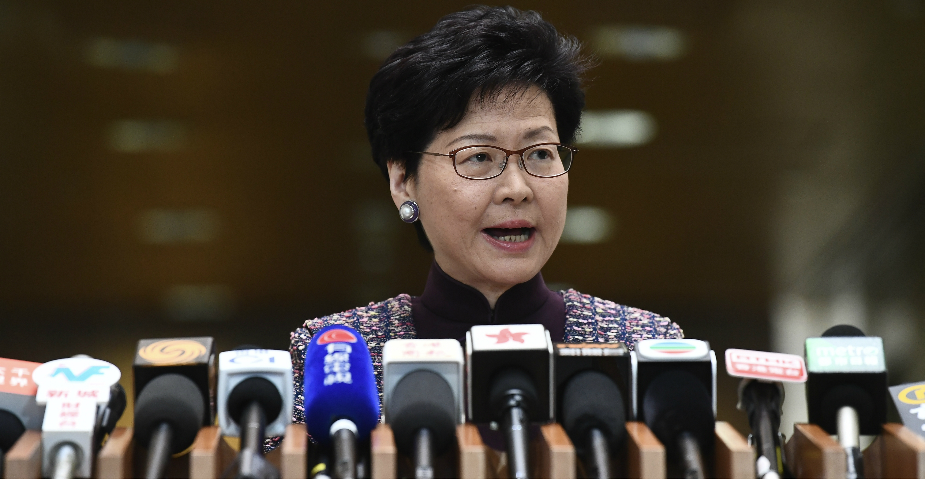 Chief Executive Carrie Lam must convince Hongkongers she places their interests above the interests of Beijing. Photo: CNSA