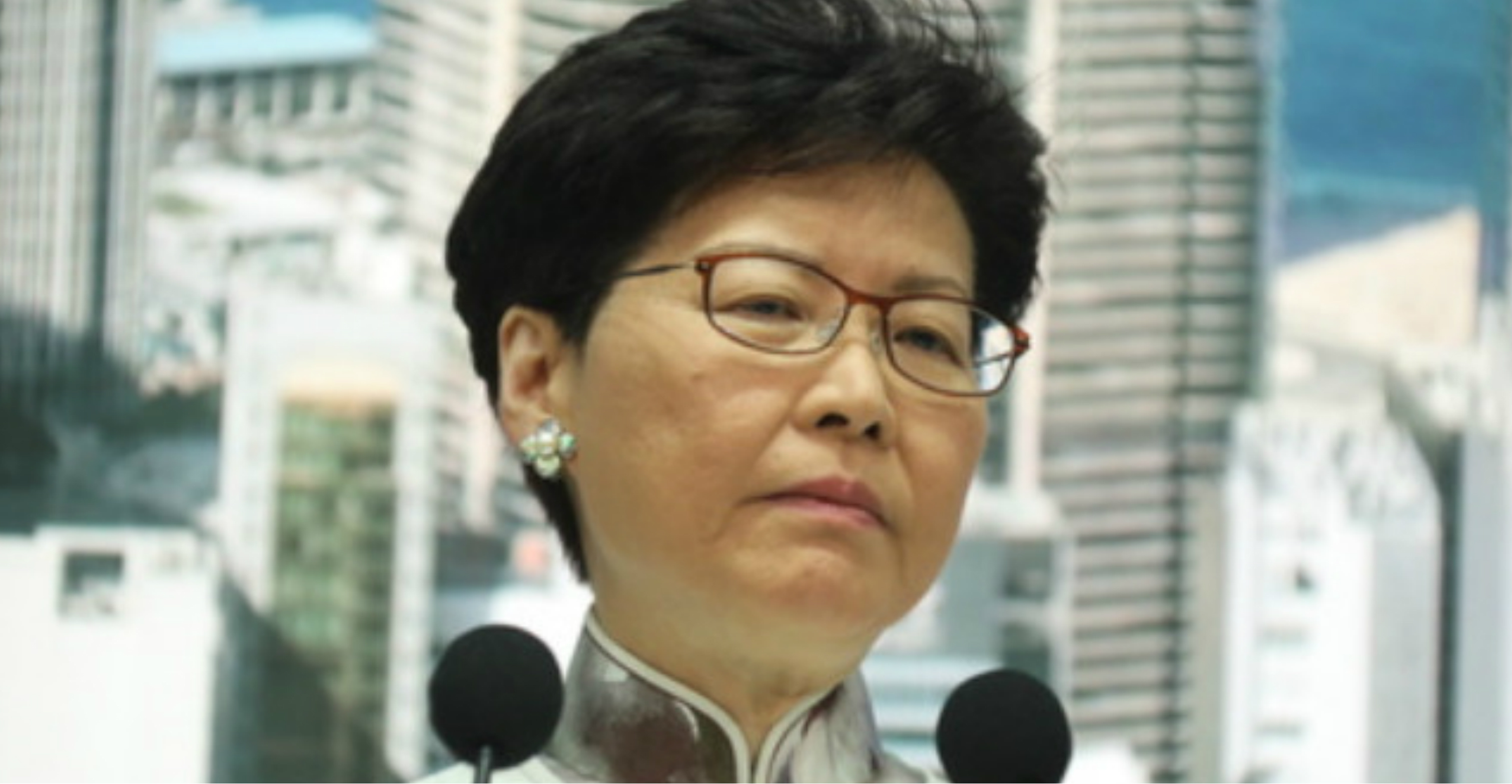 Chief Executive Carrie Lam: her sheer arrogance – and naivete – is mind-boggling. Photo: HKEJ