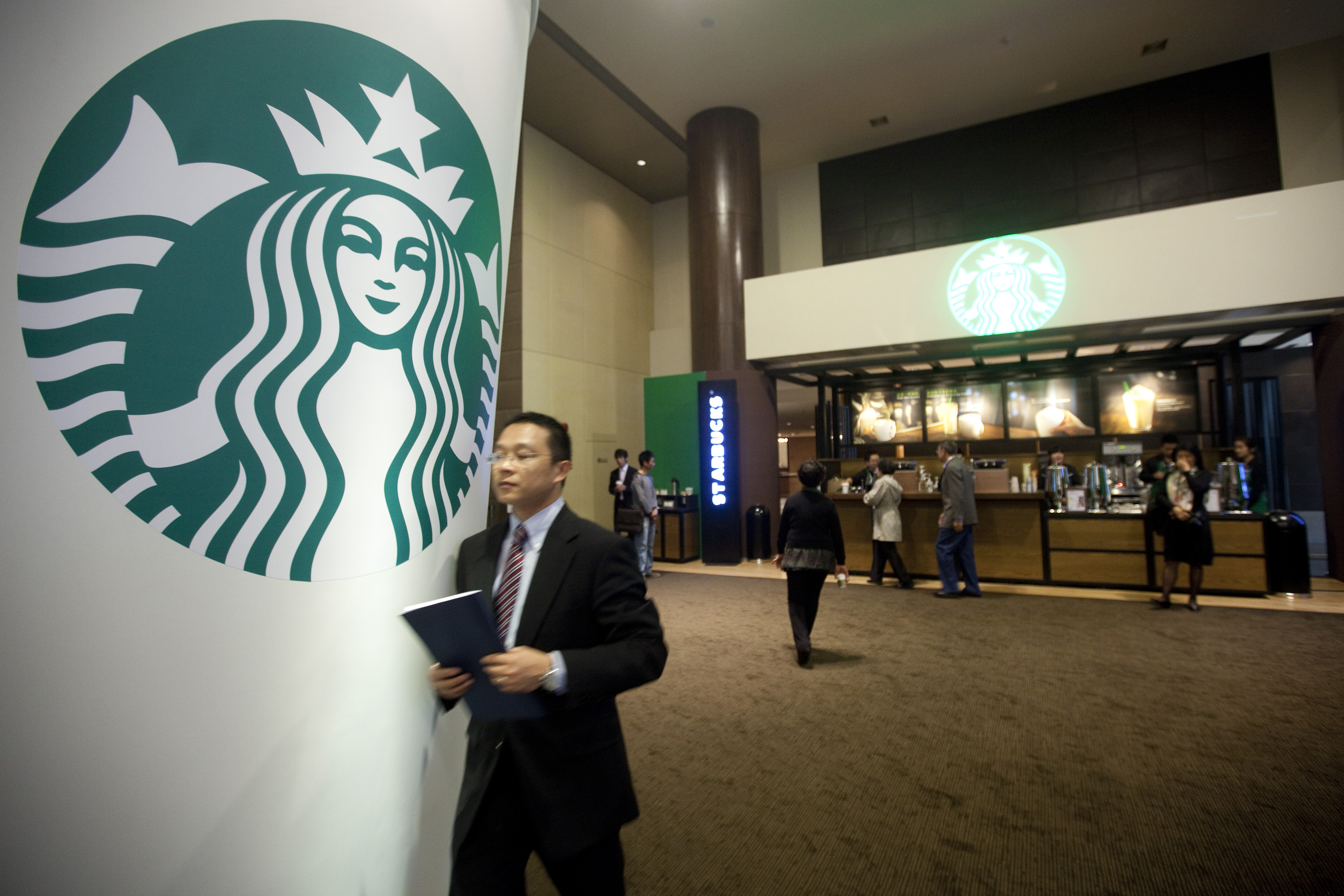 A Starbucks outlet in China. The company has been investing heavily in the market by opening new stores and expanding delivery to cater to increased demand for on-the-go coffee. Photo: Bloomberg
