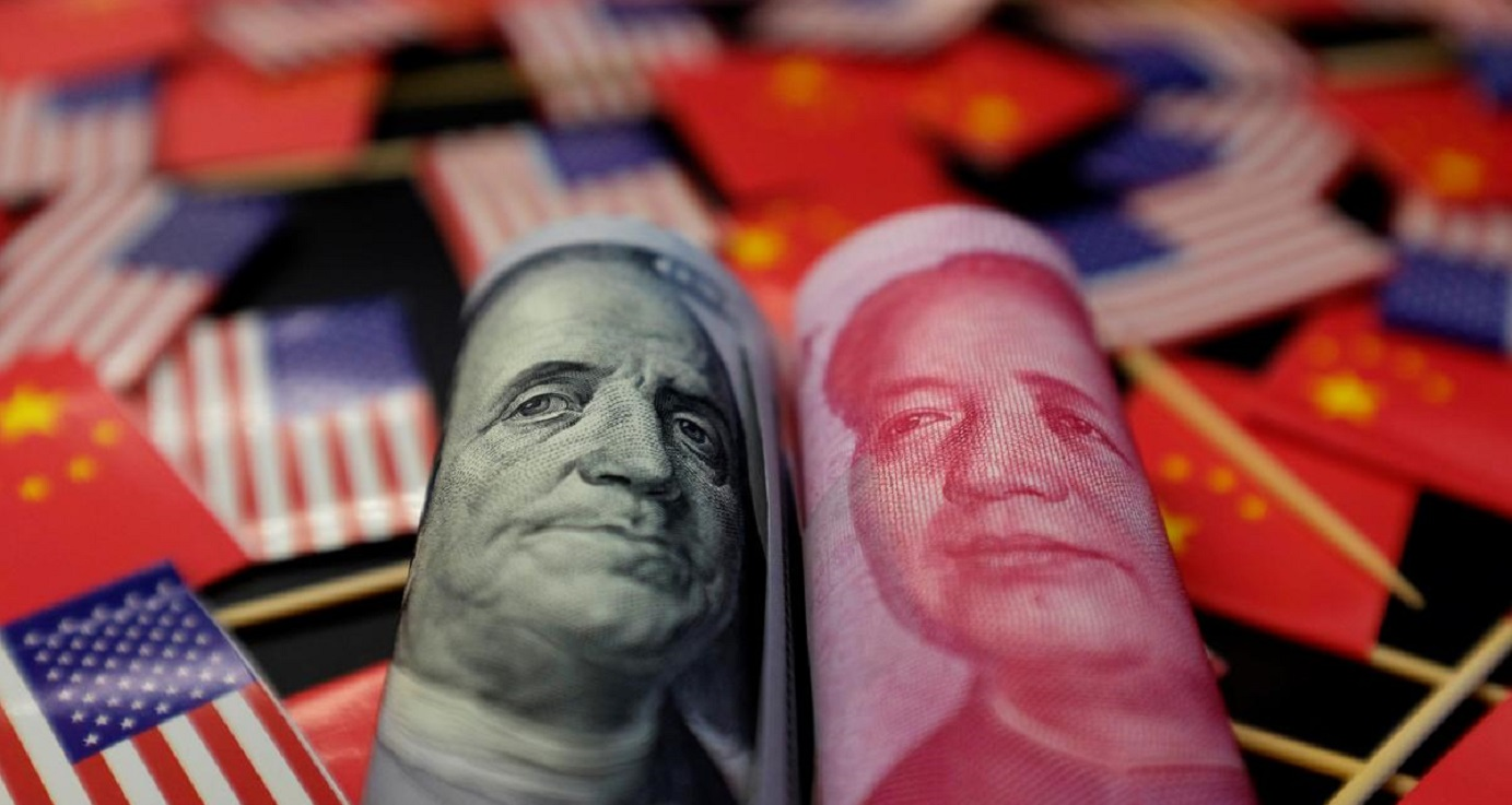 Washington has accused Beijing of manipulating its currency, escalating the year-long trade war between the two sides. Photo: Reuters