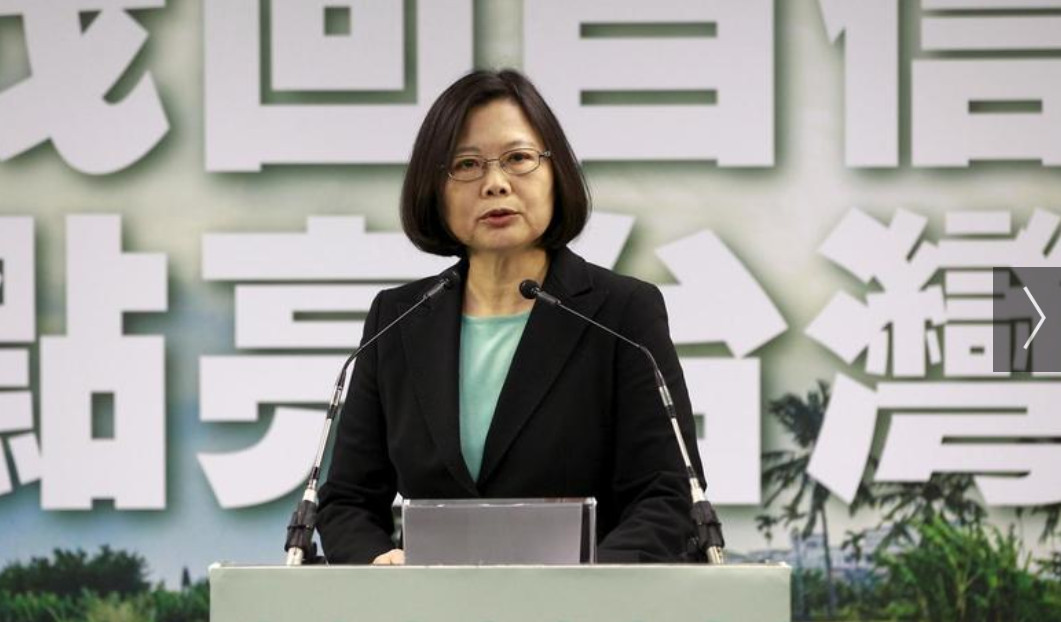 Hong Kong's current protest movement has turned Taiwan's President Tsai Ing-wen, who opposes unification, into the frontrunner in the hotly contested January presidential race. Photo: Reuters
