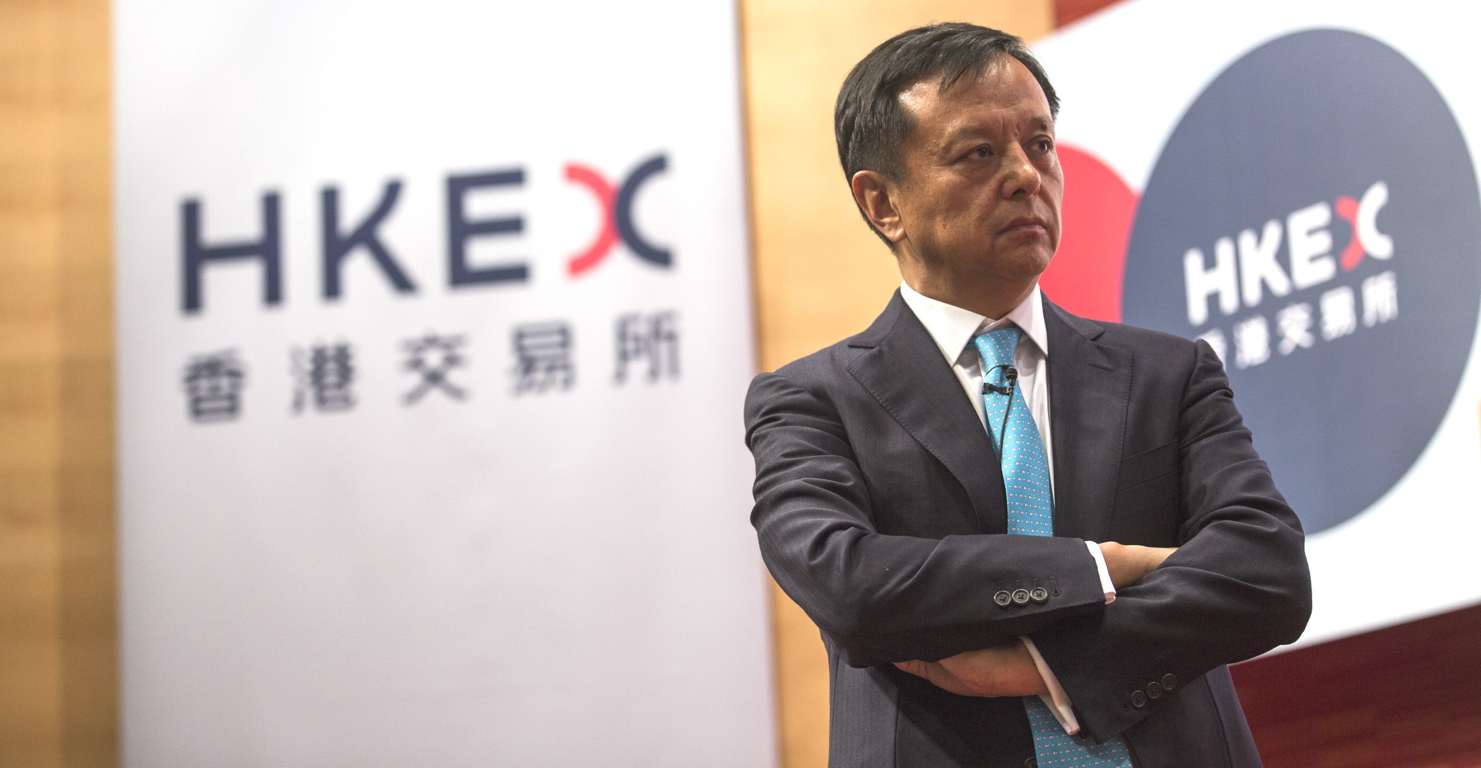Hong Kong Exchanges and Clearing CEO Charles Li has made a daring move, but he admits he came in a bit late. Photo: Bloomberg