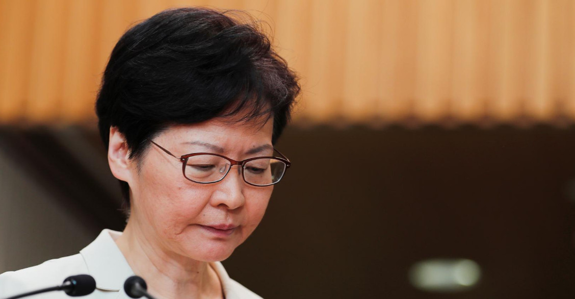 Rather than learning from her mistakes, Carrie Lam is committing more blunders and worsening the Hong Kong crisis, the author says. Photo: Reuters