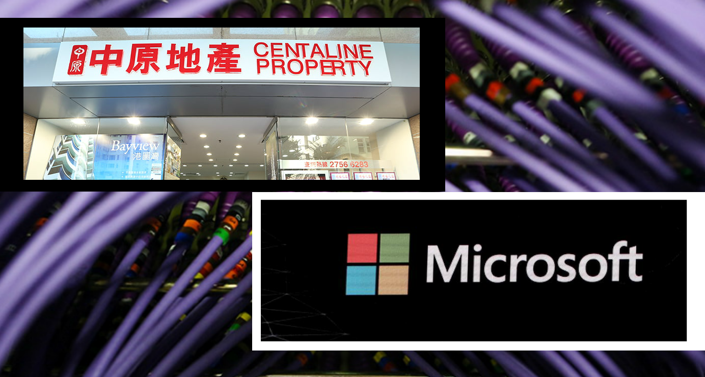 Hong Kong property agency Centaline has partnered with Microsoft to use blockchain and cloud technology to streamline time-consuming paperwork during property sales and leasing transactions. Photo: Centaline/Reuters