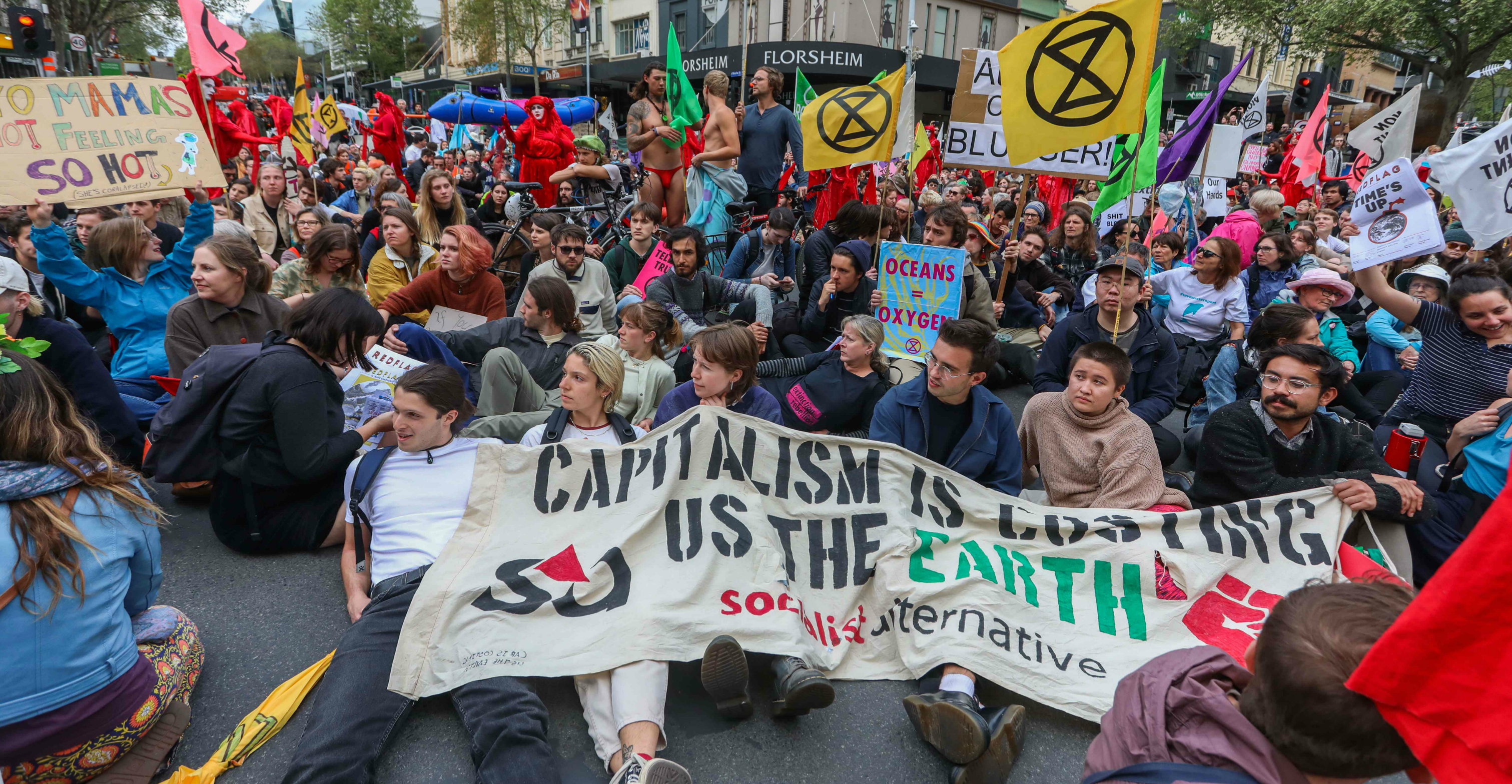 The climate movement, says the author, has correctly perceived that success will require a planetary ethics based on global solidarity and responsibility. Photo: AFP