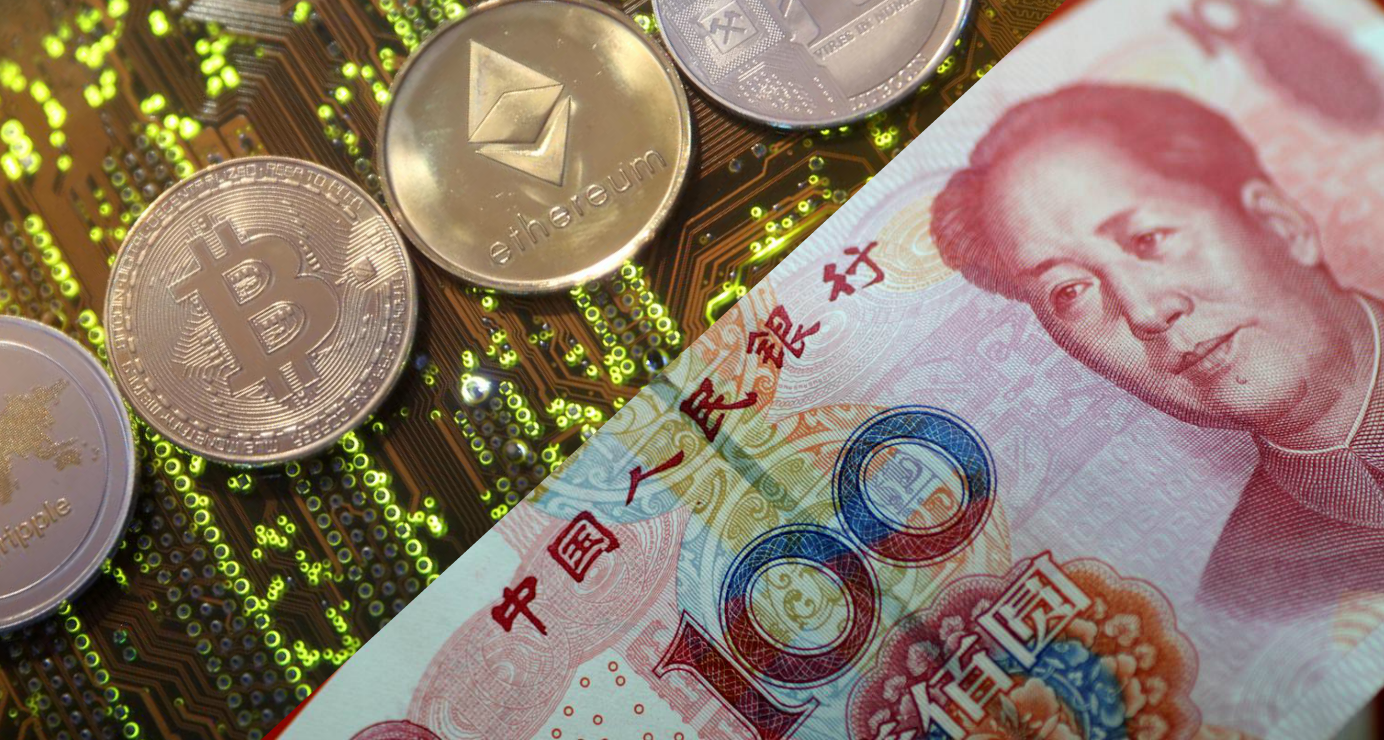 China is preparing to be the first country to roll out a digitized domestic currency, which will be akin to cryptocurrencies such as bitcoin. Photo: Reuters
