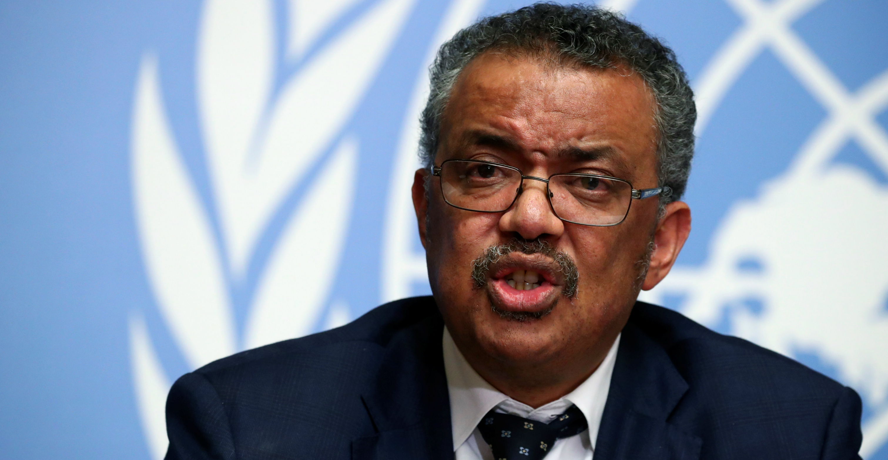 "WHO Director-General Tedros Adhanom Ghebreyesus has praised China for setting ""a new standard"" for outbreak response. Photo: Reuters"
