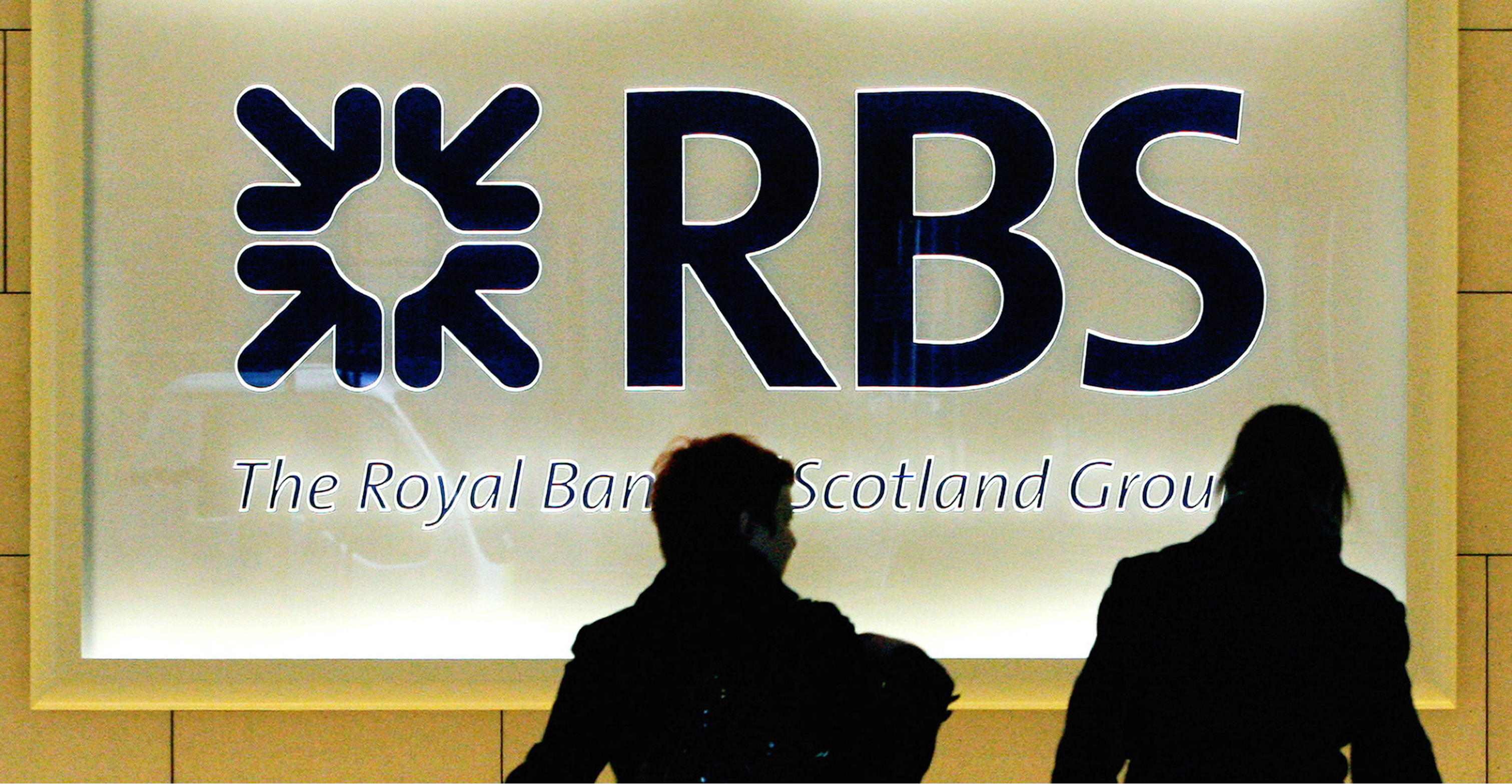 The Royal Bank of Scotland reported better than expected pre-tax profit of 4.2 billion pounds for 2019, 24 percent higher than in the previous year. Photo: AFP