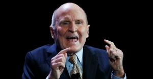 'Neutron Jack' Welch, who led GE's rapid expansion, dies at 84