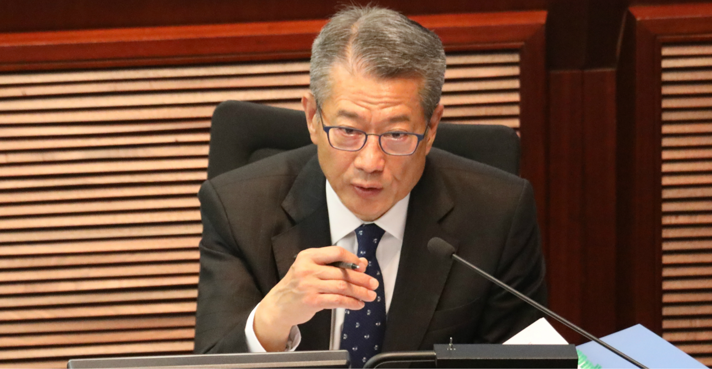 People aren't very happy about the latest budget of Financial Secretary Paul Chan. Photo: CNSA