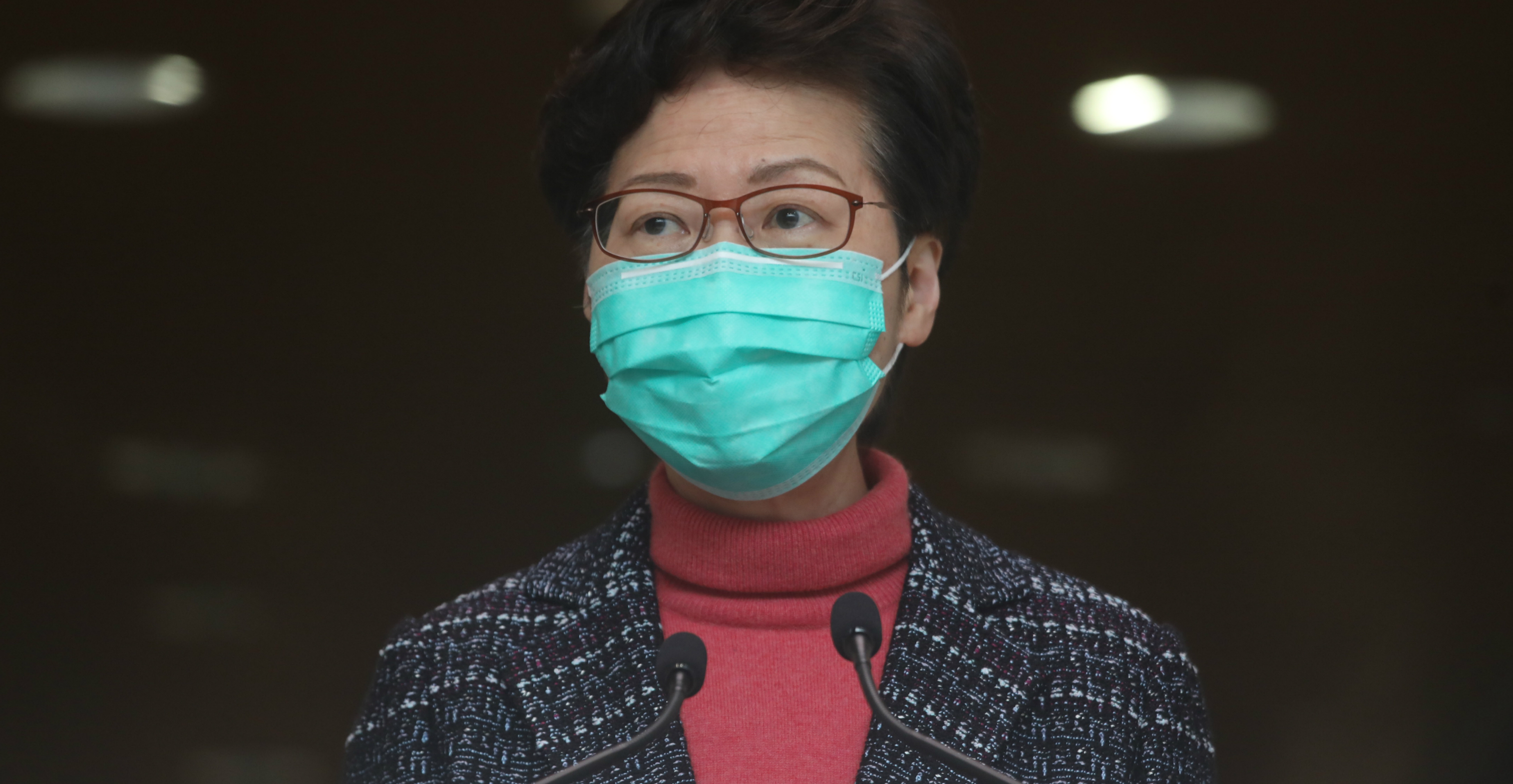 Chief Executive Carrie Lam has been silent about a viral media report alleging that she sent a secret report to her Beijing bosses complaining about her own Executive Council and establishment camp allies, says the author. Photo: HKEJ